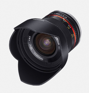 Samyang 12mm F2.0 NCS CS MICRO 4/3 black